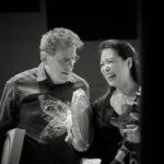 Philip Glass and Maki Namekawa © Andreas H. Bitesnich