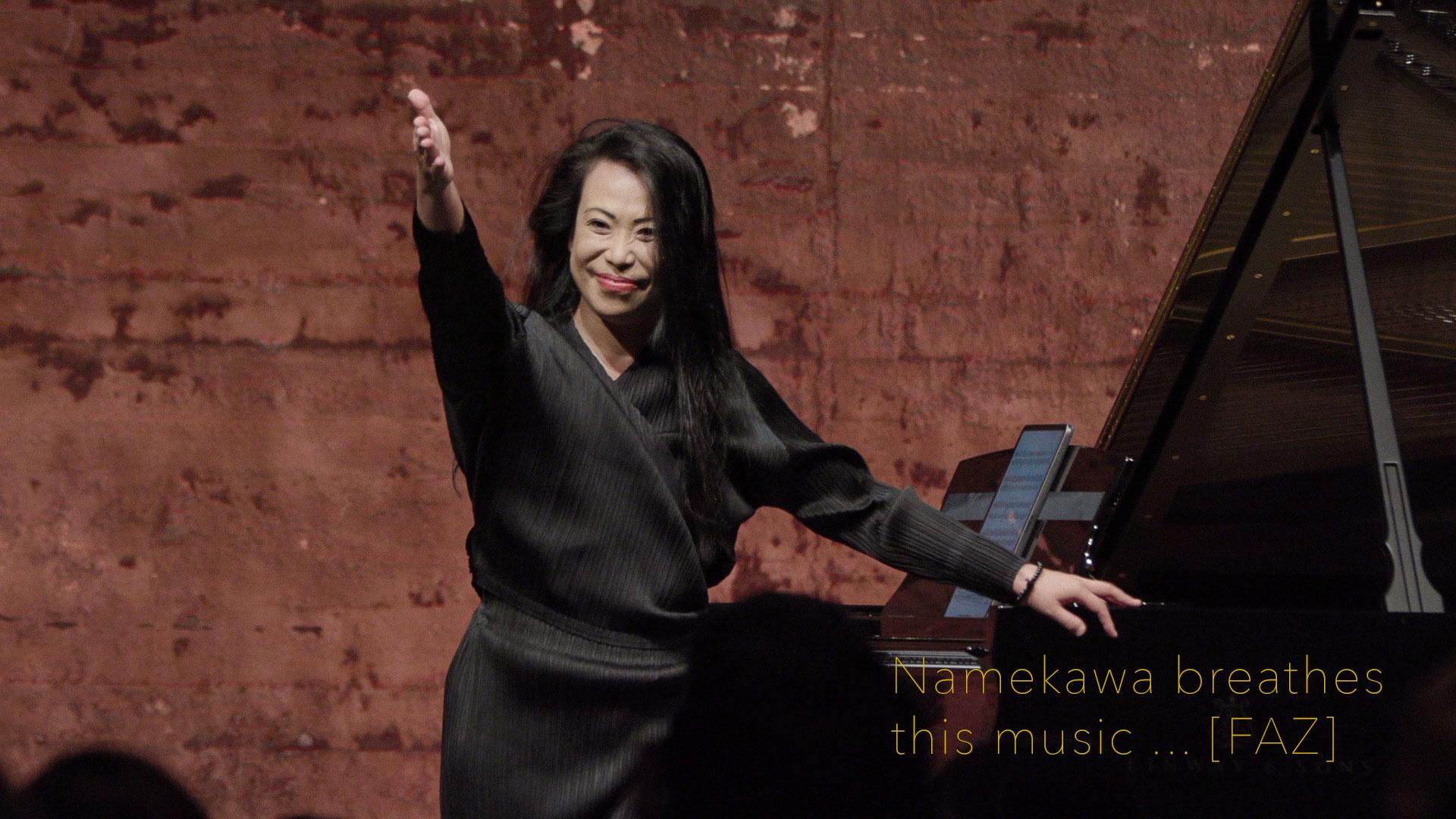 Maki Namekawa | Premiere of Philip Glass Piano Sonata
