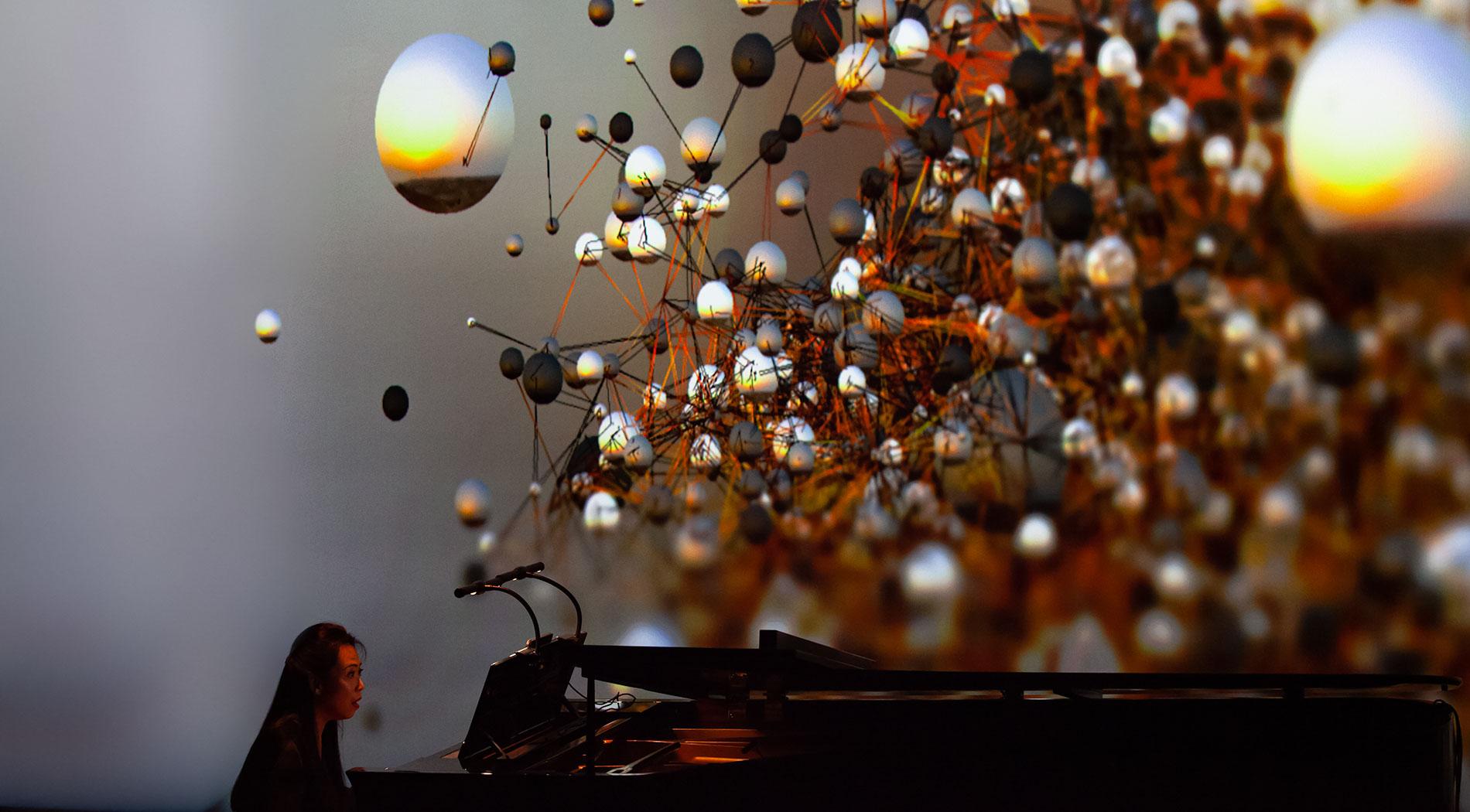 Premiere of Philip Glass Piano Sonata at ars electronica Festival 2019