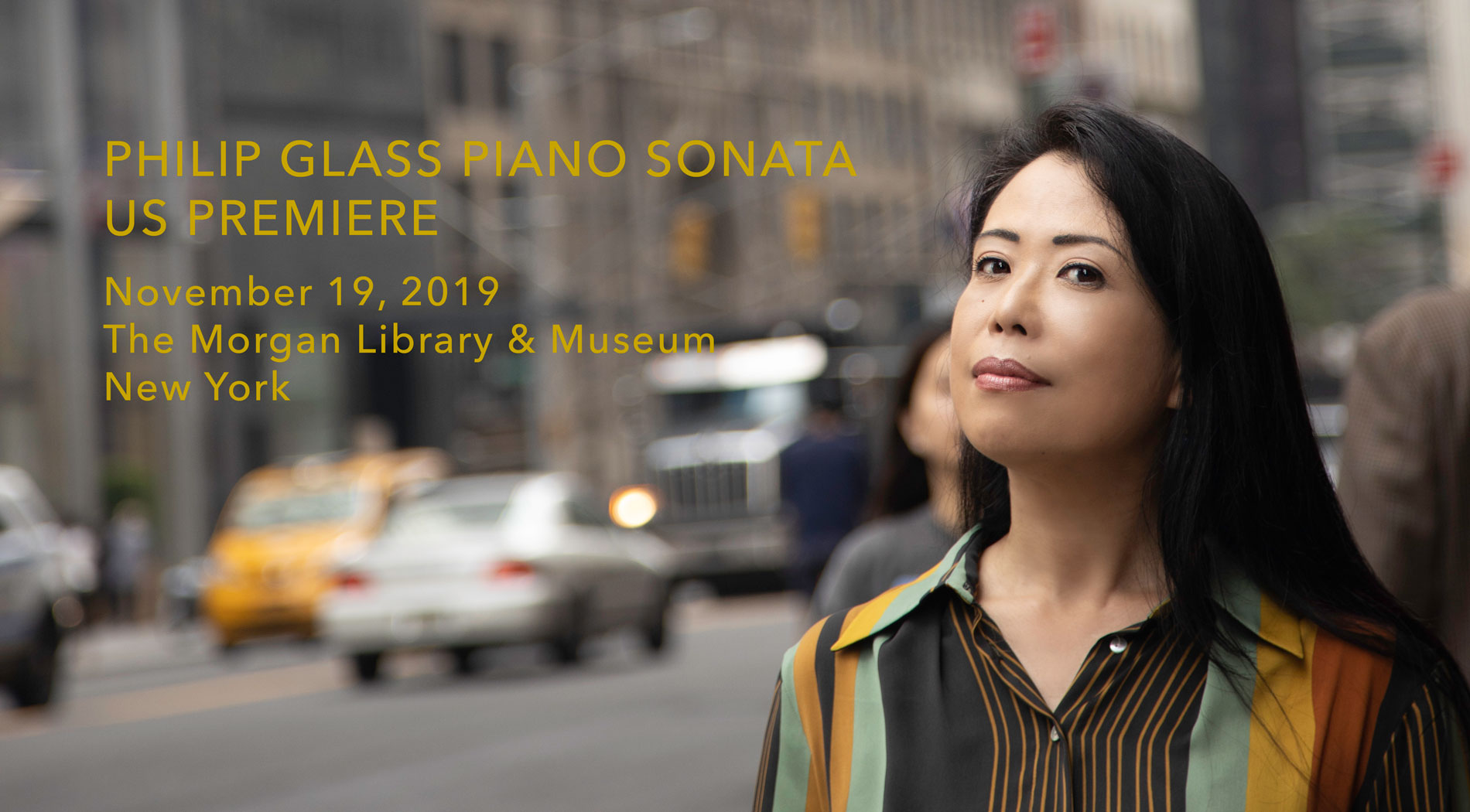 Maki Namekawa | NY Premiere of Philip Glass Piano Sonata